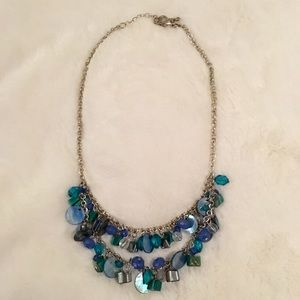 Jewelry - Turquoise and Blue Statement Necklace